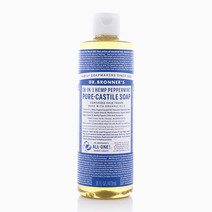 Peppermint Pure Castile Liquid Soap (16oz) by DR. BRONNER'S