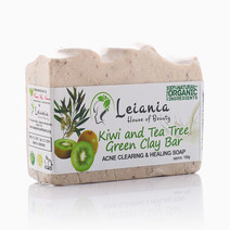 Kiwi and Tea Tree Bar  by Leiania House of Beauty