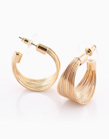 Mesh Loop Earrings by Luxe Studio