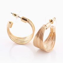 Mesh Loop Earrings by Luxe Studio