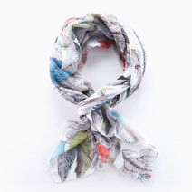 Feather Scarf by Luxe Studio