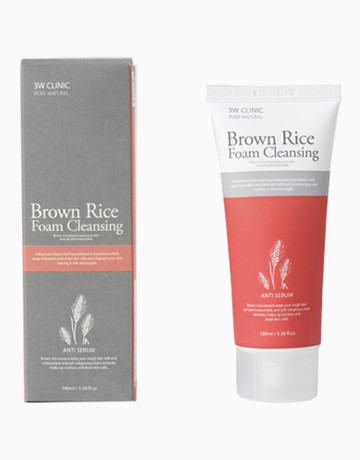 Brown Rice Foam Cleansing by 3W Clinic