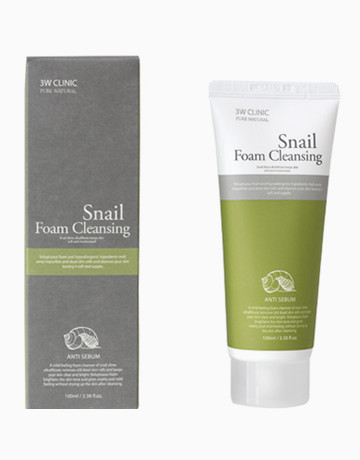Snail Foam Cleansing by 3W Clinic