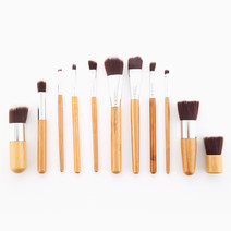 11-Piece Bamboo Brush Set by Brush Works