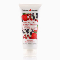 Berry Bliss 100% Natural Body Butter (200g) by Human Nature