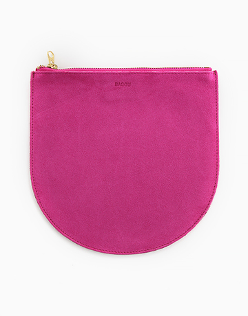Medium Leather Pouch by Baggu
