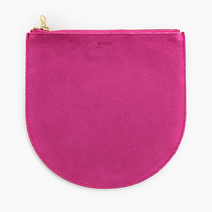 Medium Leather Pouch by Baggu