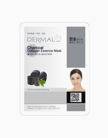 Charcoal Collagen Mask by Dermal Essence