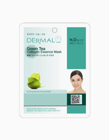 Green Tea Collagen Mask by Dermal Essence