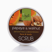 Papaya Walnut Scrub by Be Organic Bath & Body