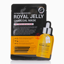 Royal Jelly Charcoal Sheet Mask by Dearberry