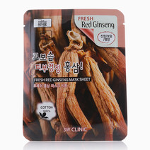 Red Ginseng Mask by 3W Clinic