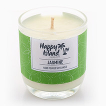 Jasmine Soy Candle (8oz/240ml) by Happy Island Candle Co
