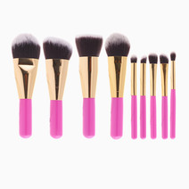 9-Piece Travel Brush Set by Brush Work