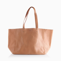 Leather Tote by Baggu