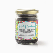Decadent Coffee & Dead Sea Salt Scrub by Jarful of Goodness