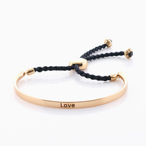 Love Affirmation Band (Gold) by Mantra Lifestyle Co