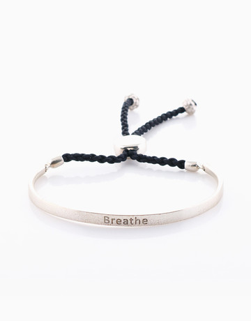 Breathe Band (Silver) by Mantra Lifestyle Co