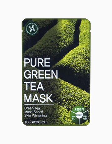 Pure Green Tea Mask Pack by Tosowoong