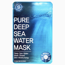 Pure Deep Sea WaterMask Pack (Dual-functional in Whitening and Anti-Wrinkle) by Tosowoong