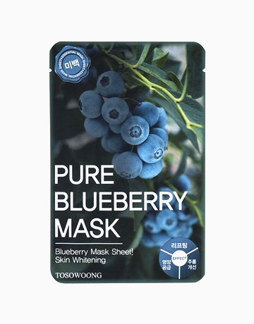 Pure Blueberry Mask Pack by Tosowoong