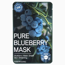 Pure Blueberry Mask Pack by Tosowoong in