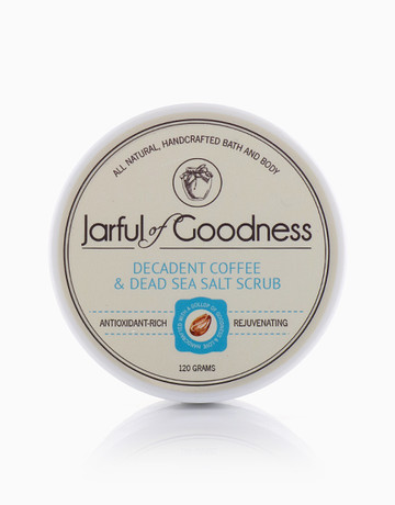 Coffee & Dead Sea Salt Scrub by Jarful of Goodness
