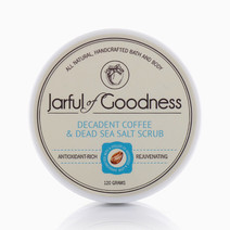 Decadent Coffee and Dead Sea Salt Scrub by Jarful of Goodness