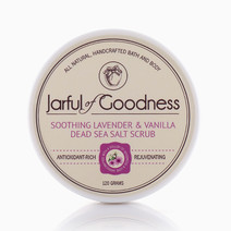 Lavender & Vanilla Salt Scrub by Jarful of Goodness