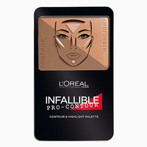 Infallible Pro-Contour & Highlight Palette by L'Oreal Paris