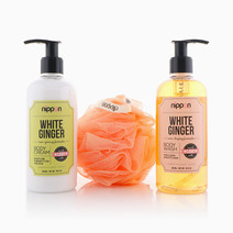 White Ginger Body Care Set by Nippon Esthetic Philippines