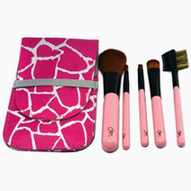 Charm pocket brush set   pink 2