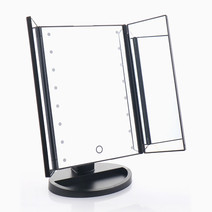 3 Fold Mirror with LED Lights by Suesh