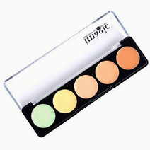 Pro 5 camouflage face and body cream palette