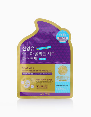 Soothing Aqua Collagen Sheet Mask by Aqutop