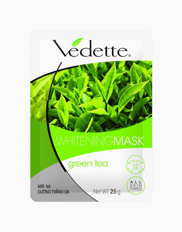 Green Tea Whitening Mask by Vedette