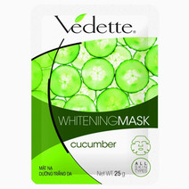 Cucumber Whitening Mask by Vedette in