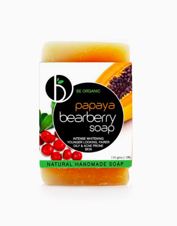 Papaya Bearberry Soap by Be Organic Bath & Body