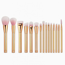 15-Piece Metal Brush Set by Brush Work