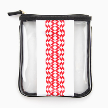 Triangle Printed Square Pouch by Coco & Tres