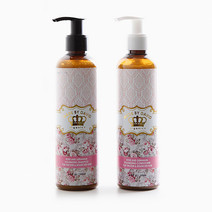Rose & Geranium Shampoo and Conditioner Set by Made by David Organics
