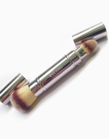Dual-Head Foundation Brush by Ellana