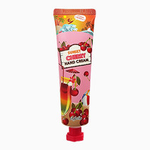Sunset cherry hand cream