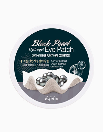 Black Pearl Eye Patch by Esfolio
