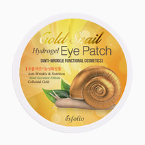 Gold snail hydrogel eye patch