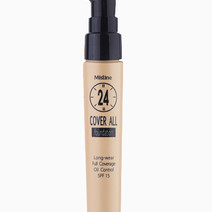 Cover All Foundation by Mistine in Natural White F1