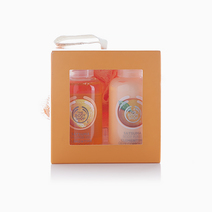 Satsuma Shower Gel, Body Puree, and Bath Lily Gift Cube Duo by The Body Shop