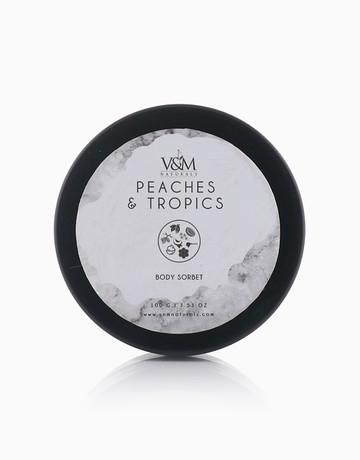 Peaches & Tropics Body Sorbet by V&M Naturals