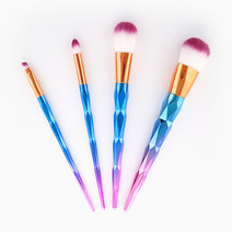 4-Piece Unicorn Brush Set by PRO STUDIO Beauty Exclusives