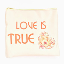 Love Is True Makeup Pouch by Ellana